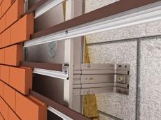 Подсистема для вентилируемого фасада